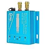 Descalcificador electrónico de agua descalcificador Acondicionador para tuberías de cobre PVC, cierre de carcasa de aleación de aluminio