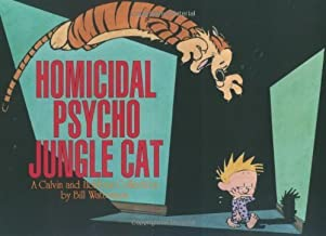 Homicidal Psycho Jungle Cat: A Calvin and Hobbes Collection by Bill Watterson (1994-09-01)