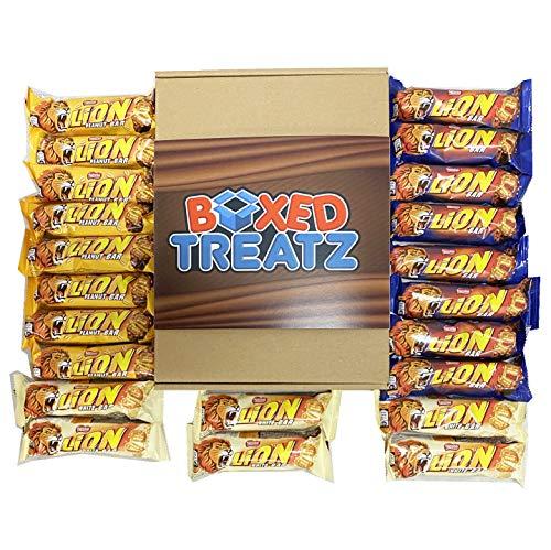 Caja de regalo de selección de león Nestle, caja de 22 unidades, la caja de regalo perfecta para todas las ocasiones por HTUK®