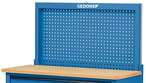 GEDORE R 1504 XL-LH Rückwand leer mit Hakensortiment