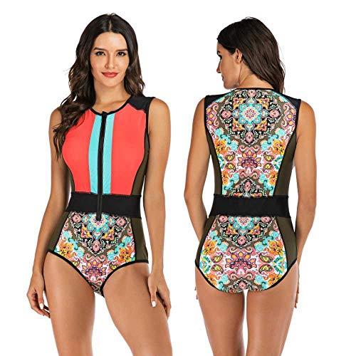 nobrand Surfwear Overall ärmelloser Damen Badeanzug Hot Spring Badeanzug Neoprenanzug