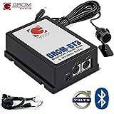 Il grom-bt3integrato stereo Bluetooth Car Kit aggiunge la funzionalità vivavoce e streaming audio wireless fabbrica originale del vostro veicolo, utilizzando un collegamento diretto attraverso la porta CD changer per un' alta qualità del suono e con...