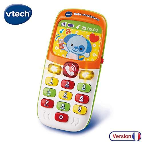 VTech - Baby Smartphone Bilingue Mixte, Téléphone Bébé, Jouet d'Éveil