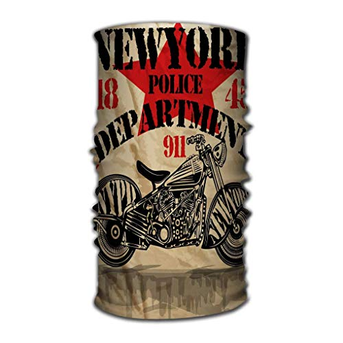 Quintion Robeson Unisex Deporte al Aire Libre Bufanda Diademas Bandana Sombreros Motocicleta Nueva York Diversión Hombre Diseño gráfico