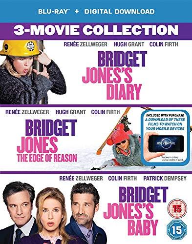 Bridget Jones 3-Film Collection (Bridget Jones's Diary/Bridget Jones: The Edge Of Reason/Bridget Jones's Baby) [Blu-ray + Digital Download] [2016] UK-Import, Sprache-Englisch
