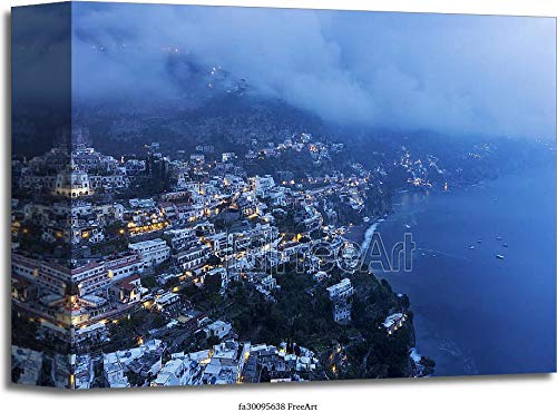 Positano in Italy Gallery Wrapped Canvas Art (8in. x 10in.)