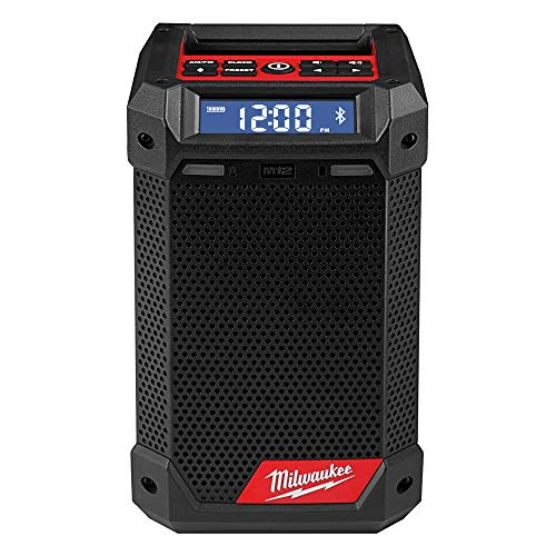 Milwaukee 2951-20 M12 Lithium-Ion Cordless Jobsite Radio/Bluetooth Speaker with Built-In Charger (Tool Only)