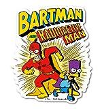 ザ・シンプソンズ ステッカー バートマン&放射能マン LCS793 The Simpsons グッズ