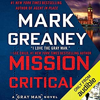 Mission Critical                   By:                                                                                                                                 Mark Greaney                               Narrated by:                                                                                                                                 Jay Snyder                      Length: 17 hrs and 1 min     5,077 ratings     Overall 4.7