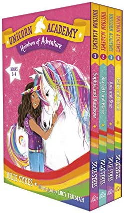 Unicorn Academy Rainbow of Adventure Boxed Set Books 1 4 product image