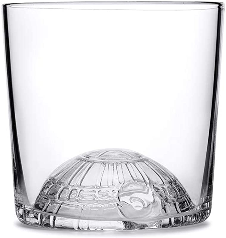 W P WPSW DSGLASS Limited Star Wars Collection Death Star Juice Glass Whiskey Cocktail Tumbler Glass Set Of 2