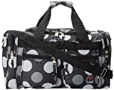 Rockland Duffel Bag, Big Black Dot, 19-Inch