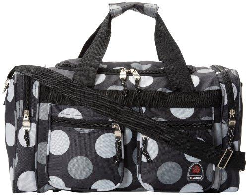 Rockland Duffel Bag, Big Black Dot, 19-Inch