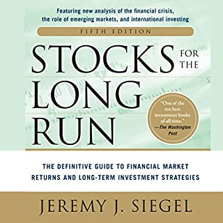 Stocks for the Long Run audiobook cover art