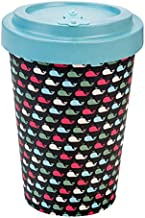 WoodWay Bamboo Fibres - to Go Coffee Cup (Whales)