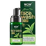 WOW Skin Science Green Tea Foaming Face Wash with Green Tea & Aloe Vera Extract, 100 ml