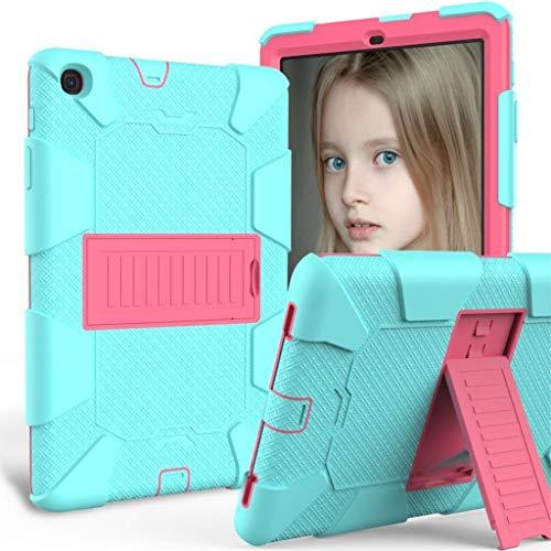 ghn Funda de silicona para tablet Samsung Galaxy Tab A 10.1 2019 T510 T515 SM-T510 SM-T510 SM-T515 a prueba de golpes y accesorios de la tableta (color