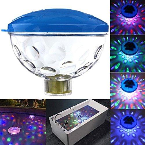 SOLMORE Unterwasser DJ Disco RGB LED Licht Teich Pool Spa Whirlpool Badewanne schwimmende Lampe