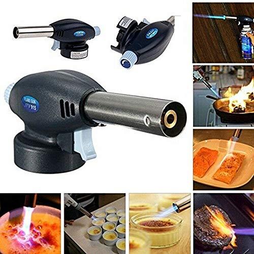 BBQ Flamethrower Butan Brenner Gasbrenner für Camping Küche Zubehör Handwerkzeug