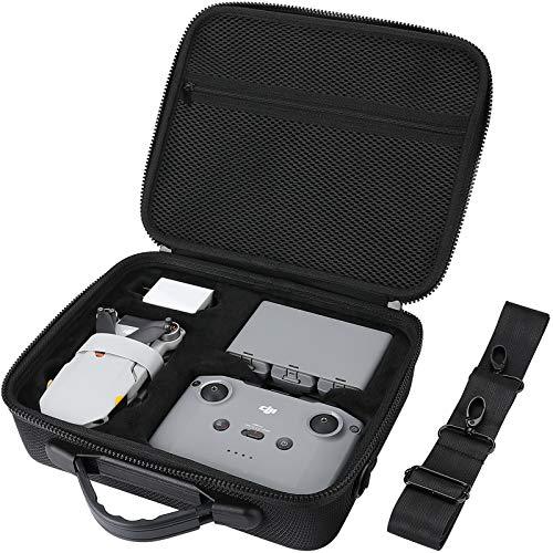 ProCase Estuche Rígido Protector para dji Mini 2 / dji Mini 2 Fly More Combo y Accesorios, Bolsa Duradera de Viaje para dji Mini 2 Drone Quadcopter (Solo Estuche) -Negro