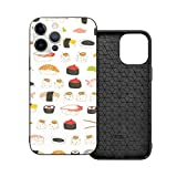 Funda de protección compatible con iPhone 12 / iPhone 12 Pro Sweet Sushi Pattern Phone Cases/Cover Soft Silicona TPU