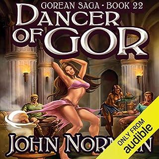 Dancer of Gor audiobook cover art