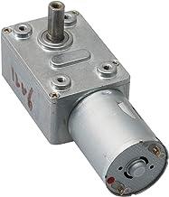 Mxfans JGY370 40rpm 12V Turbo Worm Gear Reducer Motor High Torque 6mm Shaft