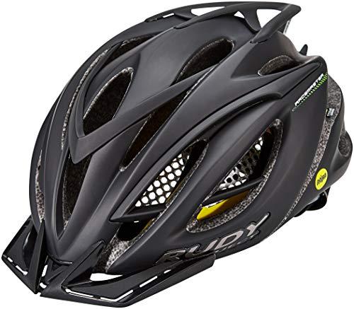 Rudy Project Racemaster MIPS - Casco de Bicicleta - Negro Contorno de...