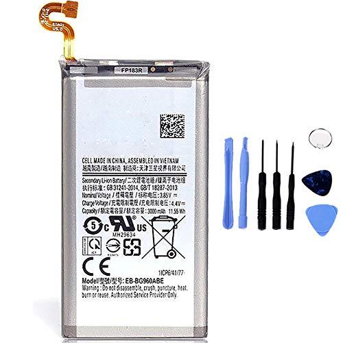 Ellenne Batería compatible con Samsung Galaxy S9+ Plus G965F EB-BG965ABE de alta capacidad 3500 mAh con kit de desmontaje incluido