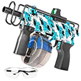 Gel Blaster - JFIEEI Gel Ball Shooter with Electric for Fighting Shooting Team Game for Boys & Girls Ages 12+ (Blue)