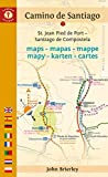 Camino de Santiago Maps: St. Jean Pied de Port - Santiago de Compostela (Camino Guides) (Dutch and English Edition)