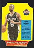 2011-12 Panini Past and Present Bread For Energy Die Cut #38 Tony Parker Spurs