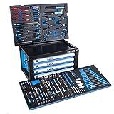 DeTec. Werkzeugkiste/Werkzeugkasten inkl. 175 tlg. Werkzeugsortiment