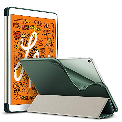 ESR Hülle kompatibel mit iPad Mini 5 2019 7.9 Zoll - Ultra Dünnes Smart Case mit weiche TPU Backcover - Auto Schlaf-/Aufwachfunktion - Kratzfeste Schutzhülle für iPad Mini 7.9