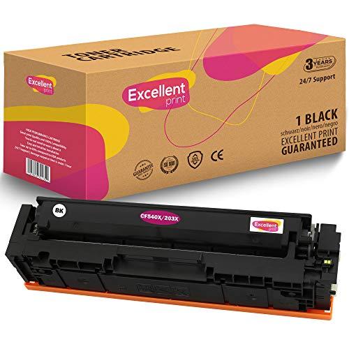 Excellent Print 126A CE310A CE311A CE312A CE313A Compatible tonercartridge voor HP Colour Laserjet Pro CP1025NW CP1020 M175A M175NW 1 SCHWARZ zwart