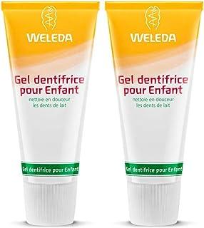 WELEDA Kinder-Zahngel (2 X 50 Ml), Bio Zahnpasta, Vegan, Fluoridfrei, Naturkosmetik