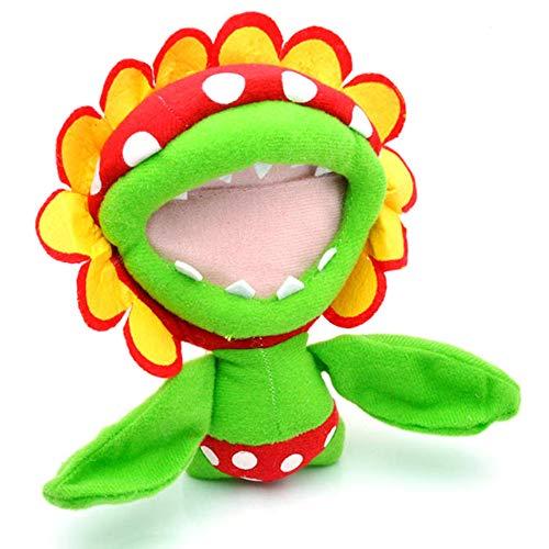 Super Mario bros Plush Toys 17cm Piranha Plant Plush Toy Soft Stuffed Toys Doll Animal Cartoon Gift for Children Green