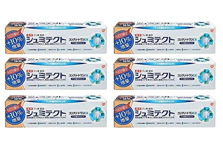 専制熟達縁【6個セット】 薬用シュミテクトコンプリートワンEX増量99g