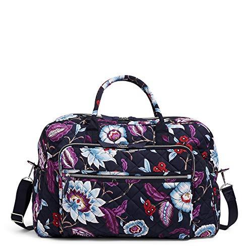 Vera Bradley Performance Twill Grand Weekender Travel Bag, Mayfair in Bloom