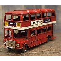 レトロ調 ヴィンテージ ミニ ビンテージカー ロンドンバス 【ロンドンバス】 【1点】