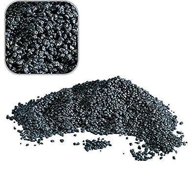 5 Kg schwarzen Quarzkies 'Premium Qualität' 2-3 mm Bodengrund Aquarium Kies