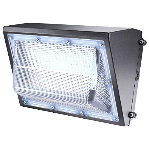 80W LED Wall Pack Lights 11200LM ,(5000K Daylight Wall Pack), Commercial and Industrial Outdoor Security Lighting Fixture LED Flood Light IP65 Waterproof