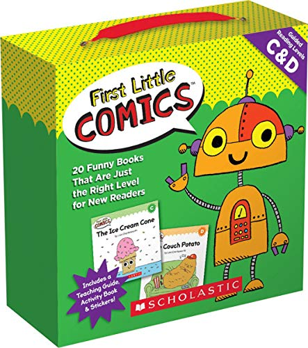 Compare Textbook Prices for First Little Comics Parent Pack: Levels C & D: 20 Funny Books That Are Just the Right Level for New Readers Box Pck Ac Edition ISBN 0078073180271 by Charlesworth, Liza