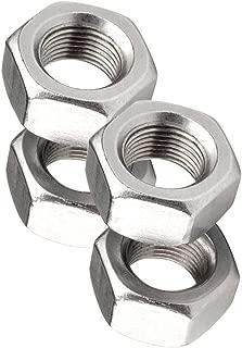 Yudesun Hardware Fasteners Tools Hex Lock Nuts Carbon Steel Hexagon Head Thread Insert Locking Nut Black M14 x 1.5mm Pitch