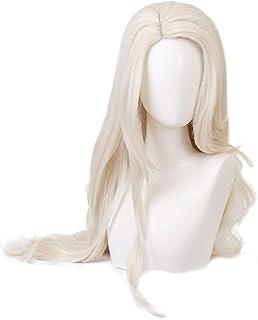 Qiancoshair Frozen Elsa Cosplay Wig Princess Long Blond Braid Wigs Halloween Party Wigs (Frozen2 Elsa)