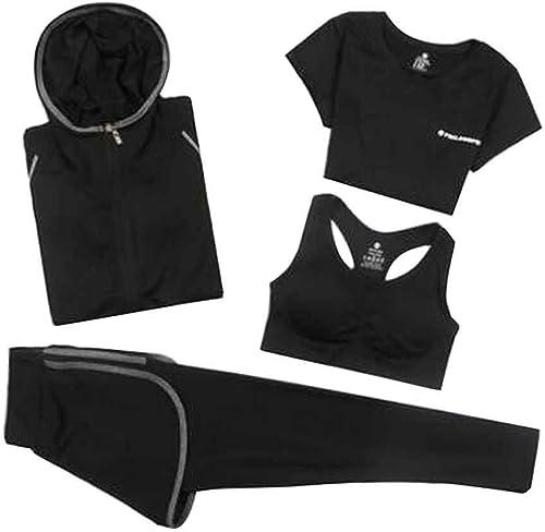 24station Costume de Sport pour Les Femmes Séchage Rapide VêteHommests de Yoga [I]