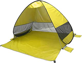 MagiDeal Automatic Instant Pop up Beach Tent Sun Shelter Anti UV Camping Canopy Sunshade Cabana Set up in Seconds