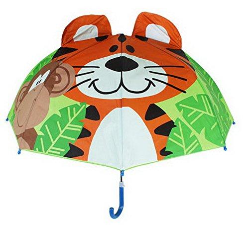 Koala Superstore Regenschirm, Grün und Tiger der Niedlichen kreativen Cartoon-Kinder