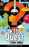 NIrV, Kids' Quest Study Bible, Hardcover: Answers to over 500 Questions about the