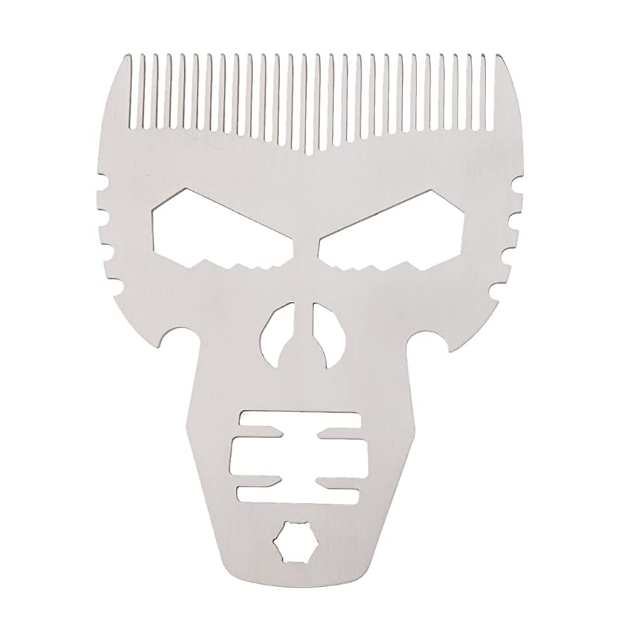 決めます長老スカートP Prettyia ビアードコーム 男性 口髭ブラシ